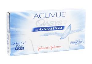 Lentes de contacto Acuvue Oasys para Astigmatismo